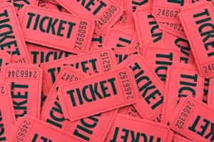 Christmas ticket sales